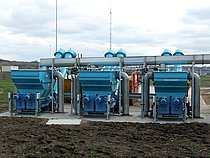WWTP Knostrop (UK, 2 million PE): HUBER Launder Channel - 20 m³ wastewater per second