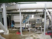 WWTP Dublin (UK,2 million PE): HUBER Launder Channel - 30 m³ wastewater per second